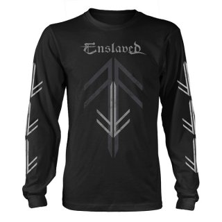 ENSLAVED Rune Cross, ロングTシャツ