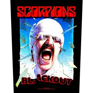 SCORPIONS Blackout, バックパッチ