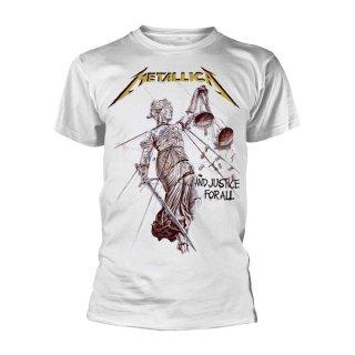 METALLICA Justice White, Tシャツ