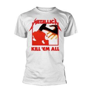 METALLICA Kill Em All White, Tシャツ