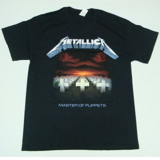 METALLICA Master Of Puppets Tracks, Tシャツ