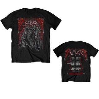 SLAYER Baphomet European Tour 2018, Tシャツ