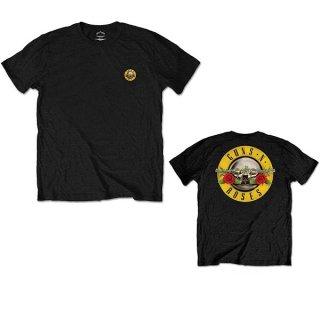 GUNS N' ROSES Classic Logo 2 Blk, Tシャツ