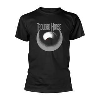 TROUBLED HORSE Logo, Tシャツ