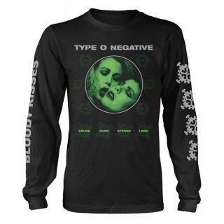 TYPE O NEGATIVE Crude Gears, ロングTシャツ