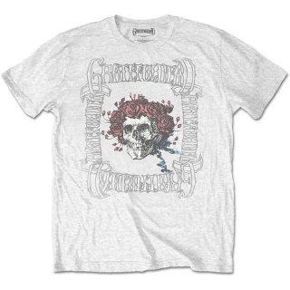 GRATEFUL DEAD Bertha With Logo Box Wht, Tシャツ