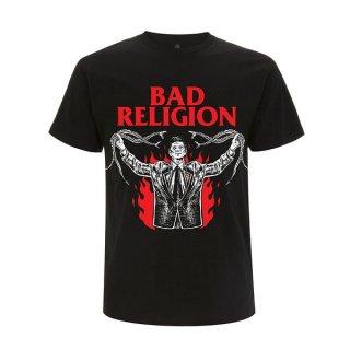 BAD RELIGION Snake Preacher, Tシャツ