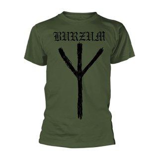 BURZUM Rune Green, Tシャツ