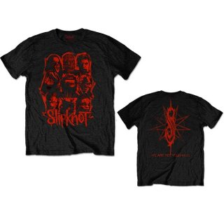 SLIPKNOT Wanyk Red Patch, Tシャツ