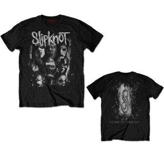 SLIPKNOT Wanyk White Splatter, Tシャツ