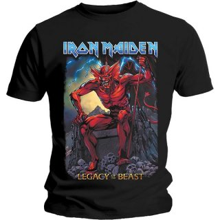 IRON MAIDEN Legacy Of The Beast 2 Devil, Tシャツ