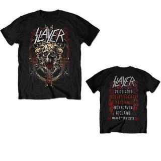 SLAYER Demonic Admat 21/06/18 Iceland Event, Tシャツ