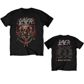 SLAYER Emonic Admat European Tour 2018, Tシャツ