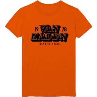 VAN HALEN World Tour '78, Tシャツ