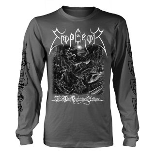 EMPEROR In The Nightside Eclipse (black And White), ロングTシャツ