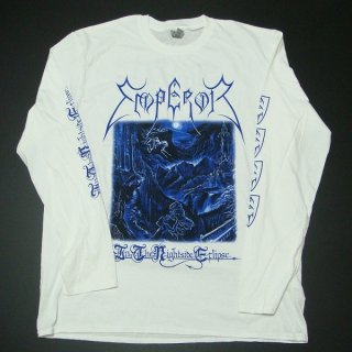 EMPEROR In The Nightside Eclipse (white), ロングTシャツ