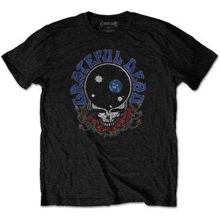 GRATEFUL DEAD Space Your Face & Logo, Tシャツ