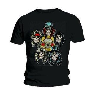 GUNS N' ROSES Vintage Heads, Tシャツ