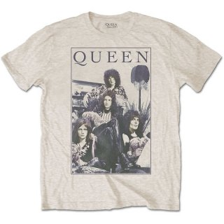 QUEEN Vintage Frame, Tシャツ