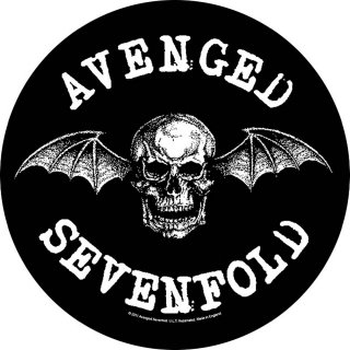 AVENGED SEVENFOLD Death Bat, バックパッチ<img class='new_mark_img2' src='https://img.shop-pro.jp/img/new/icons5.gif' style='border:none;display:inline;margin:0px;padding:0px;width:auto;' />