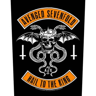 AVENGED SEVENFOLD Biker, バックパッチ<img class='new_mark_img2' src='https://img.shop-pro.jp/img/new/icons5.gif' style='border:none;display:inline;margin:0px;padding:0px;width:auto;' />