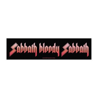 BLACK SABBATH Sabbath Bloody Sabbath, ストライプパッチ<img class='new_mark_img2' src='https://img.shop-pro.jp/img/new/icons5.gif' style='border:none;display:inline;margin:0px;padding:0px;width:auto;' />