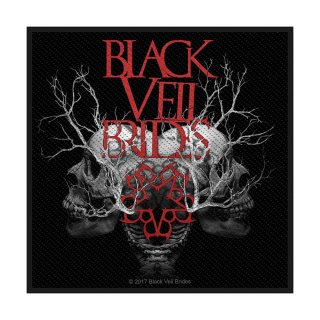 BLACK VEIL BRIDES Skull, パッチ<img class='new_mark_img2' src='https://img.shop-pro.jp/img/new/icons5.gif' style='border:none;display:inline;margin:0px;padding:0px;width:auto;' />