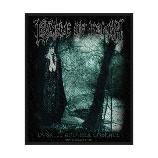 CRADLE OF FILTH Dusk & Her Embrace, パッチ<img class='new_mark_img2' src='https://img.shop-pro.jp/img/new/icons5.gif' style='border:none;display:inline;margin:0px;padding:0px;width:auto;' />