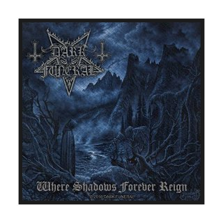 DARK FUNERAL Where Shadows Forever Reign, パッチ<img class='new_mark_img2' src='https://img.shop-pro.jp/img/new/icons5.gif' style='border:none;display:inline;margin:0px;padding:0px;width:auto;' />