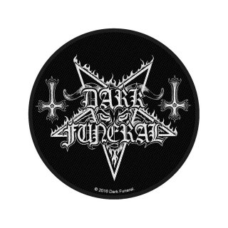 DARK FUNERAL Circular Logo, パッチ<img class='new_mark_img2' src='https://img.shop-pro.jp/img/new/icons5.gif' style='border:none;display:inline;margin:0px;padding:0px;width:auto;' />