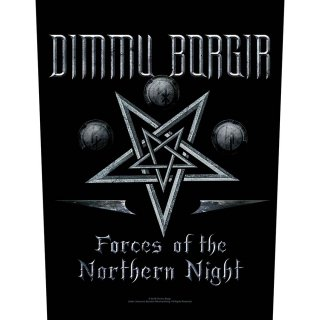 DIMMU BORGIR Forces of the Northern Night, バックパッチ<img class='new_mark_img2' src='https://img.shop-pro.jp/img/new/icons5.gif' style='border:none;display:inline;margin:0px;padding:0px;width:auto;' />