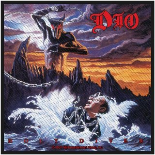 DIO Holy Diver, パッチ<img class='new_mark_img2' src='https://img.shop-pro.jp/img/new/icons5.gif' style='border:none;display:inline;margin:0px;padding:0px;width:auto;' />