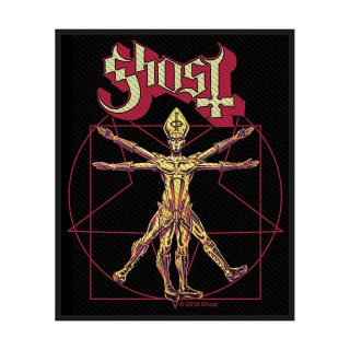 GHOST The Vitruvian Ghost, パッチ<img class='new_mark_img2' src='https://img.shop-pro.jp/img/new/icons5.gif' style='border:none;display:inline;margin:0px;padding:0px;width:auto;' />