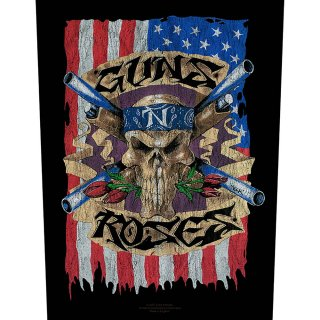 GUNS N' ROSES Flag, バックパッチ<img class='new_mark_img2' src='https://img.shop-pro.jp/img/new/icons5.gif' style='border:none;display:inline;margin:0px;padding:0px;width:auto;' />