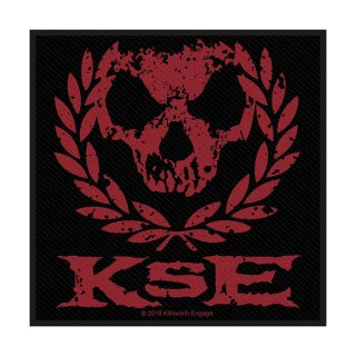 KILLSWITCH ENGAGE Skull Wreath, パッチ<img class='new_mark_img2' src='https://img.shop-pro.jp/img/new/icons5.gif' style='border:none;display:inline;margin:0px;padding:0px;width:auto;' />