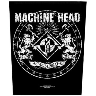MACHINE HEAD Crest 2, バックパッチ