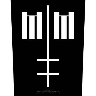 MARILYN MANSON Cross Logo, バックパッチ<img class='new_mark_img2' src='https://img.shop-pro.jp/img/new/icons5.gif' style='border:none;display:inline;margin:0px;padding:0px;width:auto;' />