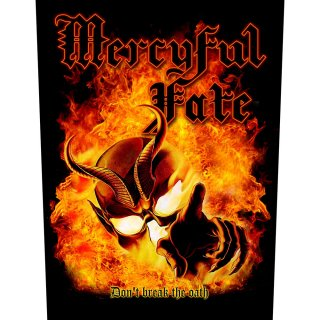 MERCYFUL FATE Don't Break The Oath, バックパッチ<img class='new_mark_img2' src='https://img.shop-pro.jp/img/new/icons5.gif' style='border:none;display:inline;margin:0px;padding:0px;width:auto;' />