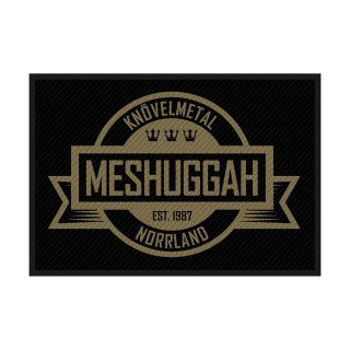 MESHUGGAH Crest, パッチ<img class='new_mark_img2' src='https://img.shop-pro.jp/img/new/icons5.gif' style='border:none;display:inline;margin:0px;padding:0px;width:auto;' />