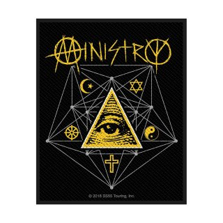 MINISTRY All Seeing Eye, パッチ<img class='new_mark_img2' src='https://img.shop-pro.jp/img/new/icons5.gif' style='border:none;display:inline;margin:0px;padding:0px;width:auto;' />