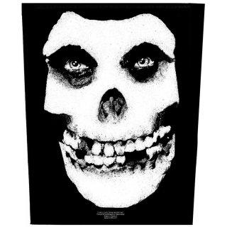 MISFITS Face Skull, バックパッチ