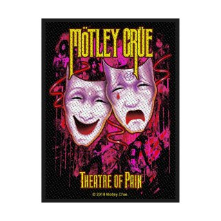 MOTLEY CRUE Theatre of Pain, パッチ<img class='new_mark_img2' src='https://img.shop-pro.jp/img/new/icons5.gif' style='border:none;display:inline;margin:0px;padding:0px;width:auto;' />