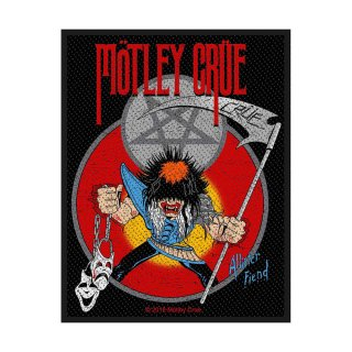 MOTLEY CRUE Allister Fiend, パッチ<img class='new_mark_img2' src='https://img.shop-pro.jp/img/new/icons5.gif' style='border:none;display:inline;margin:0px;padding:0px;width:auto;' />