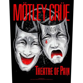 MOTLEY CRUE Theatre of Pain, バックパッチ<img class='new_mark_img2' src='https://img.shop-pro.jp/img/new/icons5.gif' style='border:none;display:inline;margin:0px;padding:0px;width:auto;' />