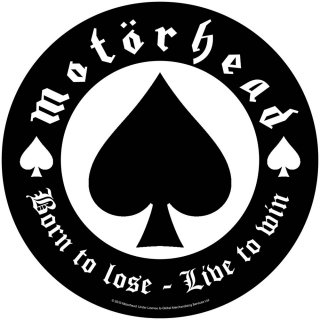 MOTORHEAD Born To Lose, バックパッチ<img class='new_mark_img2' src='https://img.shop-pro.jp/img/new/icons5.gif' style='border:none;display:inline;margin:0px;padding:0px;width:auto;' />