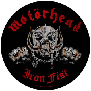 MOTORHEAD Iron Fist, バックパッチ<img class='new_mark_img2' src='https://img.shop-pro.jp/img/new/icons5.gif' style='border:none;display:inline;margin:0px;padding:0px;width:auto;' />