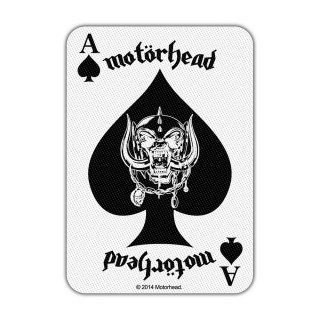 MOTORHEAD Ace of Spades Card, パッチ<img class='new_mark_img2' src='https://img.shop-pro.jp/img/new/icons5.gif' style='border:none;display:inline;margin:0px;padding:0px;width:auto;' />
