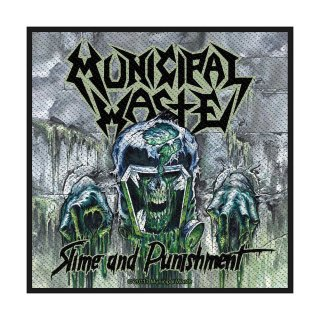 MUNICIPAL WASTE Waste Slime and Punishment, パッチ<img class='new_mark_img2' src='https://img.shop-pro.jp/img/new/icons5.gif' style='border:none;display:inline;margin:0px;padding:0px;width:auto;' />