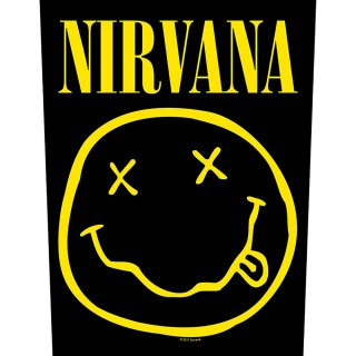 NIRVANA Smiley, バックパッチ<img class='new_mark_img2' src='https://img.shop-pro.jp/img/new/icons5.gif' style='border:none;display:inline;margin:0px;padding:0px;width:auto;' />
