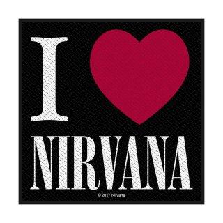 NIRVANA I Love Nirvana, パッチ<img class='new_mark_img2' src='https://img.shop-pro.jp/img/new/icons5.gif' style='border:none;display:inline;margin:0px;padding:0px;width:auto;' />